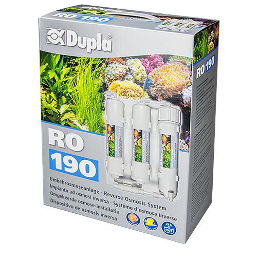 DUPLA RO 190 système d\'osmose inverse avec débit de 190 L/jour d\'eau osmosée