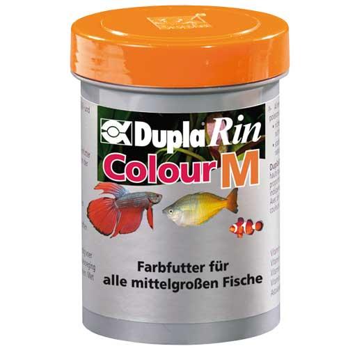 DUPLA Rin Colour M 180 ml nourriture en granulés moyens favorisant l\'éclat des couleurs chez les poissons d\'eau douce et d\'eau de mer