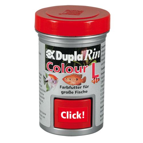 DUPLA Rin Colour L 65 ml nourriture en gros granulés favorisant l\'éclat des couleurs chez les poissons d\'eau douce et d\'eau de mer