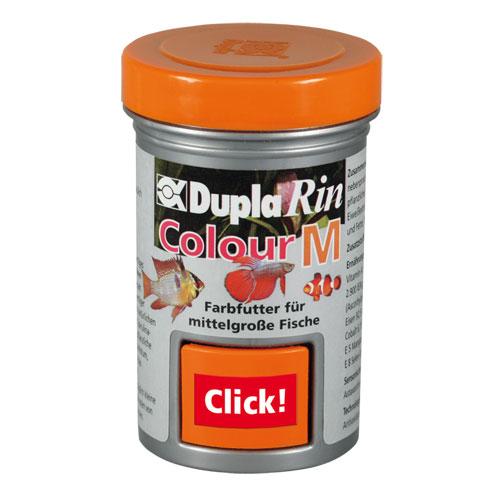 DUPLA Rin Colour M 65 ml nourriture en granulés moyens favorisant l\'éclat des couleurs chez les poissons d\'eau douce et d\'eau de mer