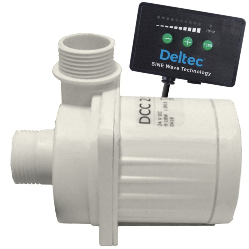 DELTEC DCC 2 pompe complète pour écumeurs SC 1456, SC 1351, 600i et 1000i