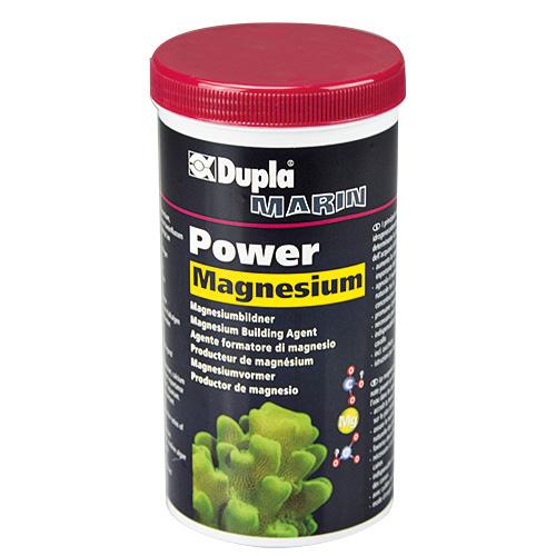 DUPLA Power Magnésium 400 gr complète la perte de Magnésium en aquarium récifal