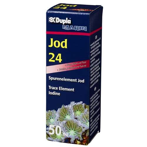 DUPLA Jod 24 50 ml complément de Iode concentré pour usage quotidien en aquarium marin