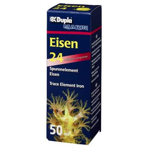 DUPLA Eisen 24 50 ml complément de Fer concentré pour usage quotidien en aquarium marin