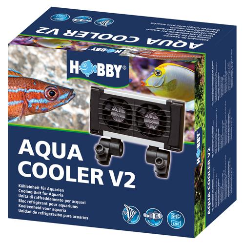 HOBBY Aqua Cooler V2 refroidisseur 2 ventilateurs pour aquarium jusqu\'à 120 L