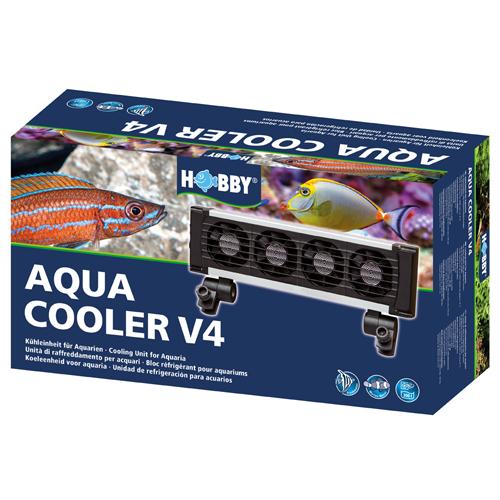 HOBBY Aqua Cooler V4 refroidisseur 4 ventilateurs pour aquarium jusqu\'à 300 L