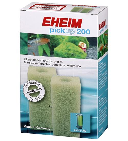 EHEIM Lot de 2 cartouches de mousse de filtration pour filtre Eheim PickUp 200 (modèle 2012)
