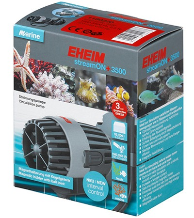 EHEIM streamON+ 3500 pompe de brassage 1500 à 3500 L/h pour aquarium