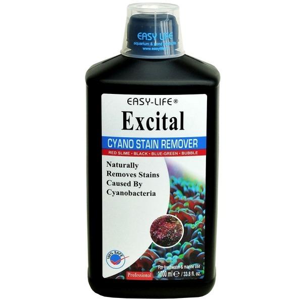 EASY-LIFE eXcital 1000ml élimine les algues rouges (Cyano sp.) en stimulant la croissance de micro-organismes