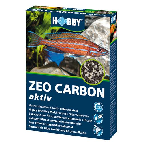 HOBBY Zeo Carbon Aktiv 500 gr masse filtrante haute purification pour aquarium d\'eau douce