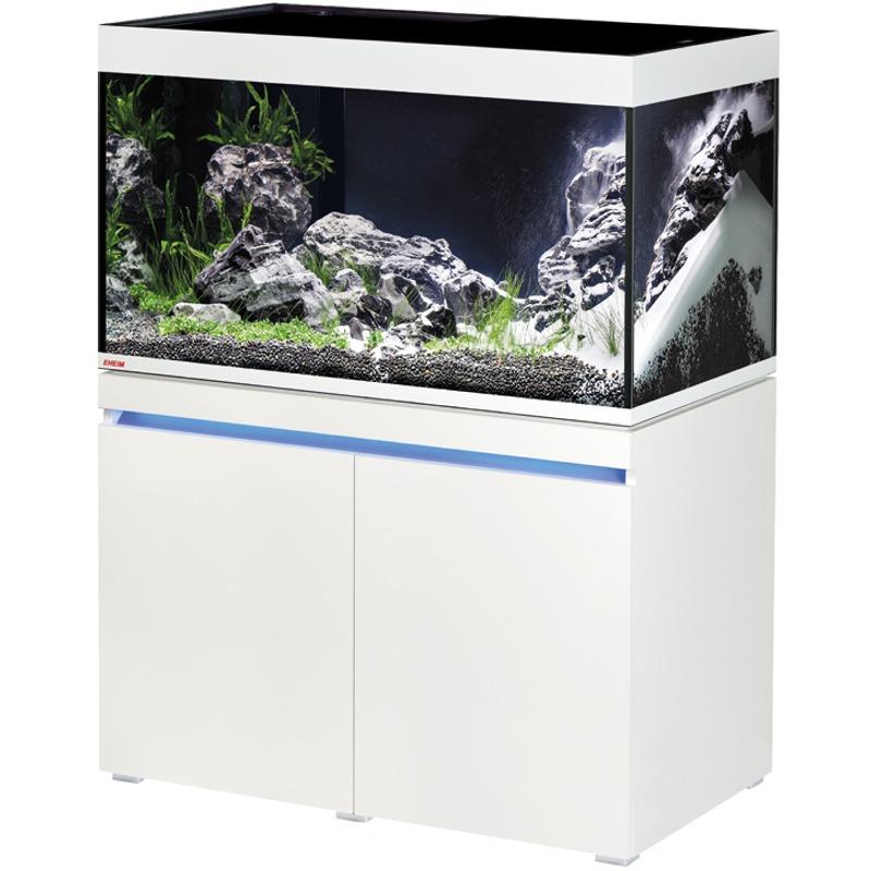 EHEIM Incpiria 330 LED Alpin kit aquarium 100 cm 330 L avec meuble et éclairage LEDs
