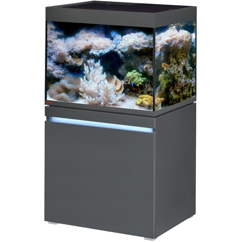 EHEIM Incpiria Marine 230 LED Graphite kit aquarium 70 cm 230 L avec meuble et éclairage LEDs