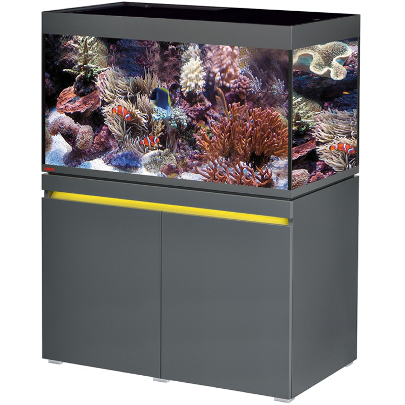 EHEIM Incpiria Marine 330 LED Graphite kit aquarium 100 cm 330 L avec meuble et éclairage LEDs