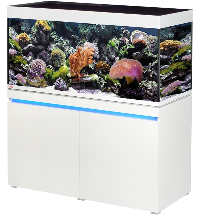 EHEIM Incpiria Marine 430 LED Alpin kit aquarium 130 cm 430 L avec meuble et éclairage LEDs