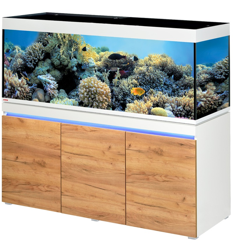 EHEIM Incpiria Marine 530 LED Alpin / Nature kit aquarium 160 cm 530 L avec meuble et éclairage LEDs