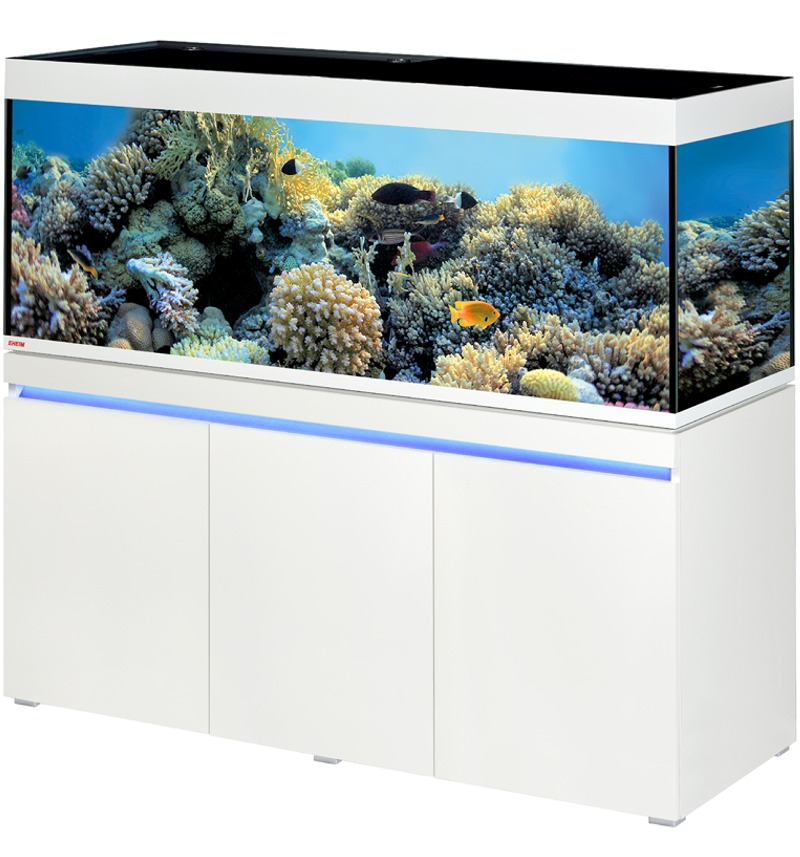 EHEIM Incpiria Marine 530 LED Alpin kit aquarium 160 cm 530 L avec meuble et éclairage LEDs