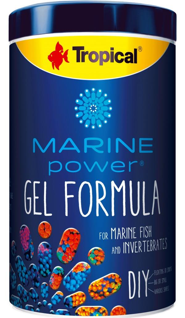 TROPICAL Marine Power Gel Formula 1000 ml kit préparation de nourriture en gel pour poissons marins