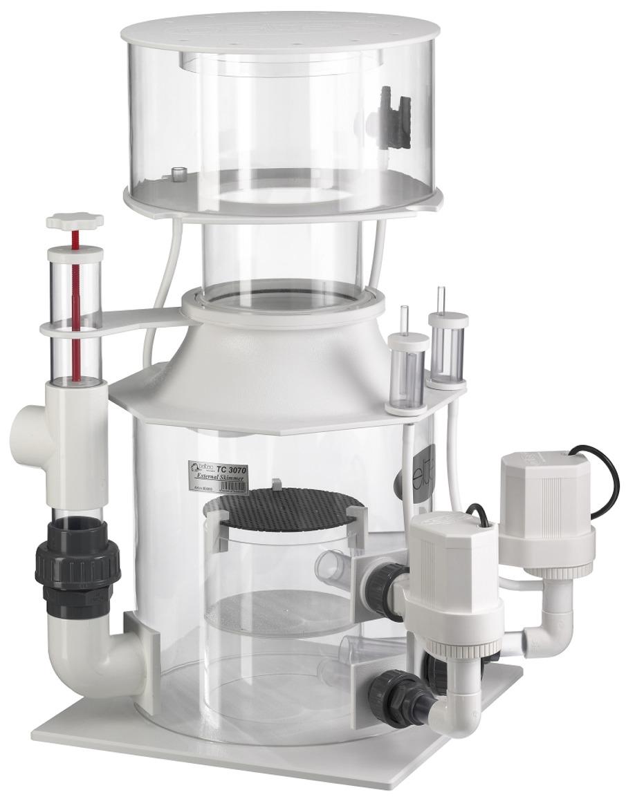 DELTEC TC 3071 écumeur externe avec pompe 24V et contrôleur pour aquarium de 2000 à 2400 L