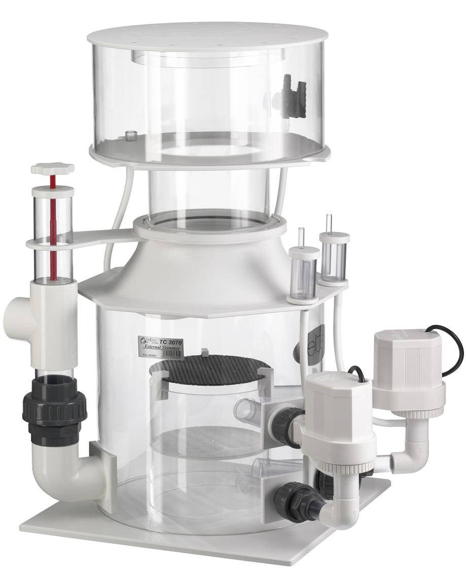DELTEC TC 3071S écumeur externe avec pompe 24V et contrôleur pour aquarium de 5000 à 6000 L