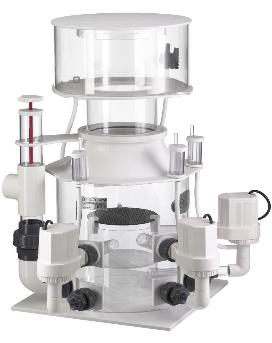 DELTEC TC 4081 écumeur externe avec pompe 24V et contrôleur pour aquarium de 8000 à 10000 L