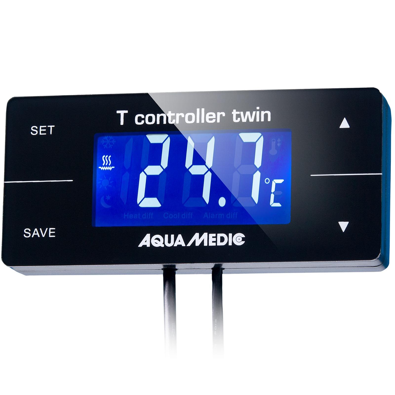 AQUA MEDIC T Controller Twin contrôleur numérique de température avec double prise pour groupe froid et chauffage