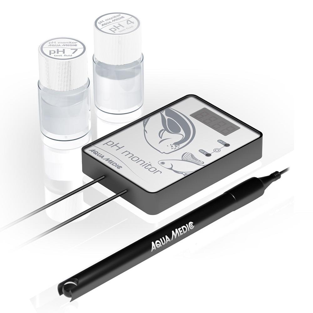 AQUA MEDIC pH Monitor pH-mètre de précision pour aquarium d\'eau douce et d\'eau de mer