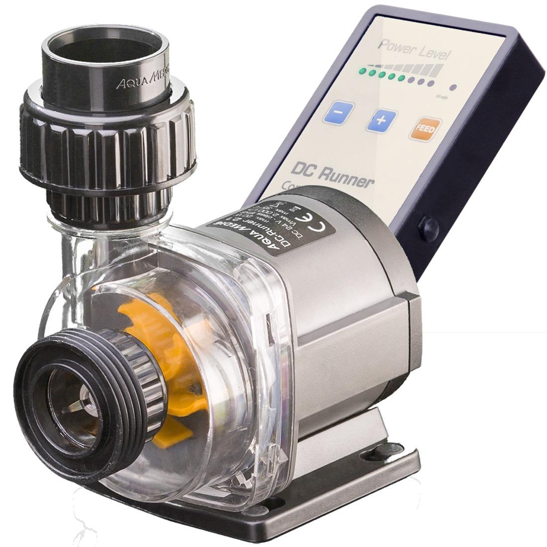AQUA MEDIC DC Runner 2.2 Ultra Silent pompe 2000 L/h avec contrôleur pour aquarium d\'eau douce et d\'eau mer