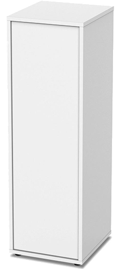 AQUATLANTIS Meuble Nano Cubic 40 Blanc avec porte pour aquarium jusqu\'à 32 x 35 cm
