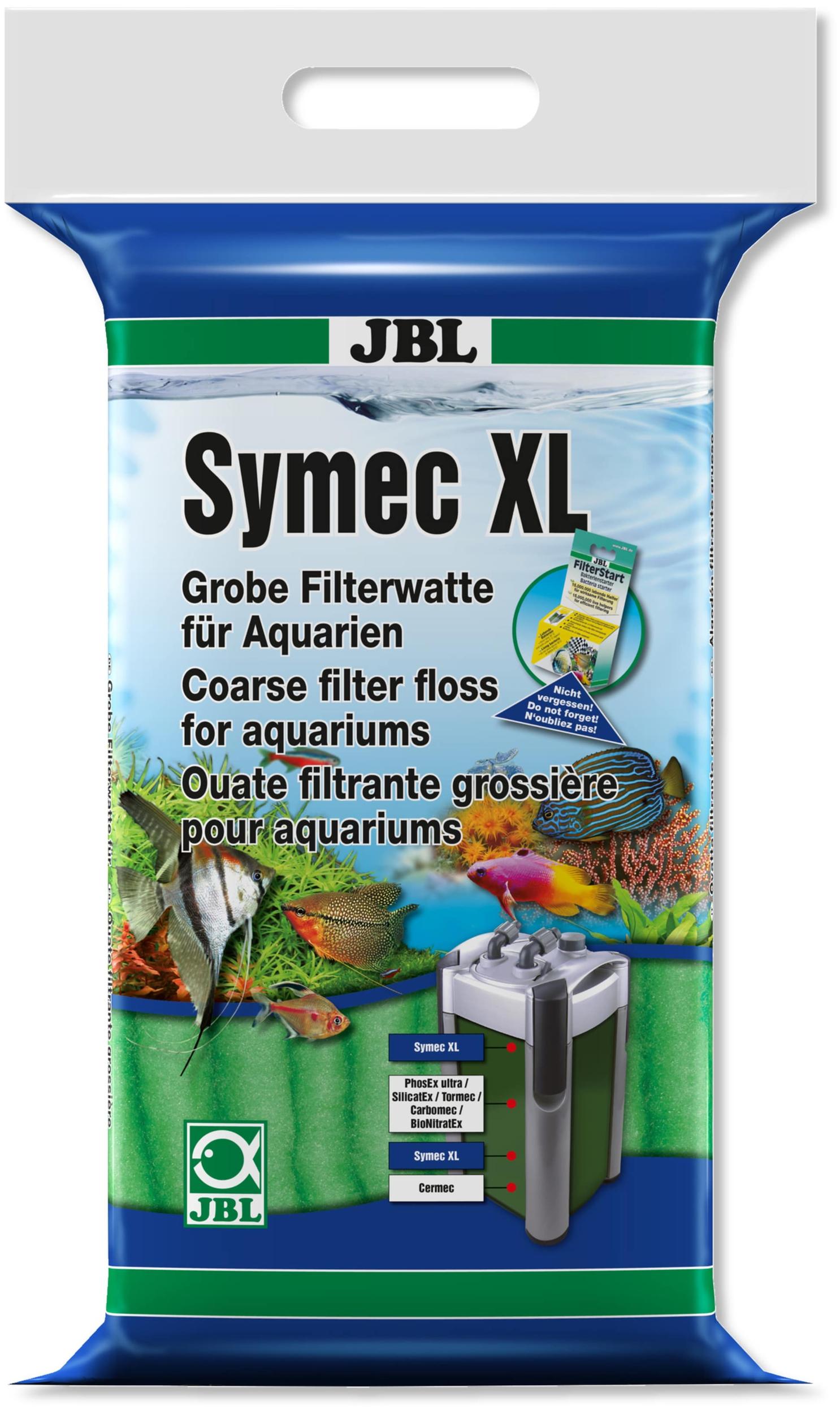 JBL Symec XL 250gr ouate filtrante verte epaisse haute qualité