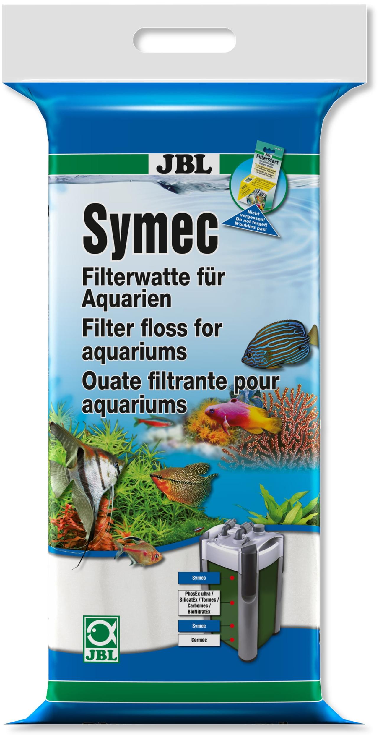 JBL Symec 500 gr. ouate filtrante fine haute qualité pour aquarium