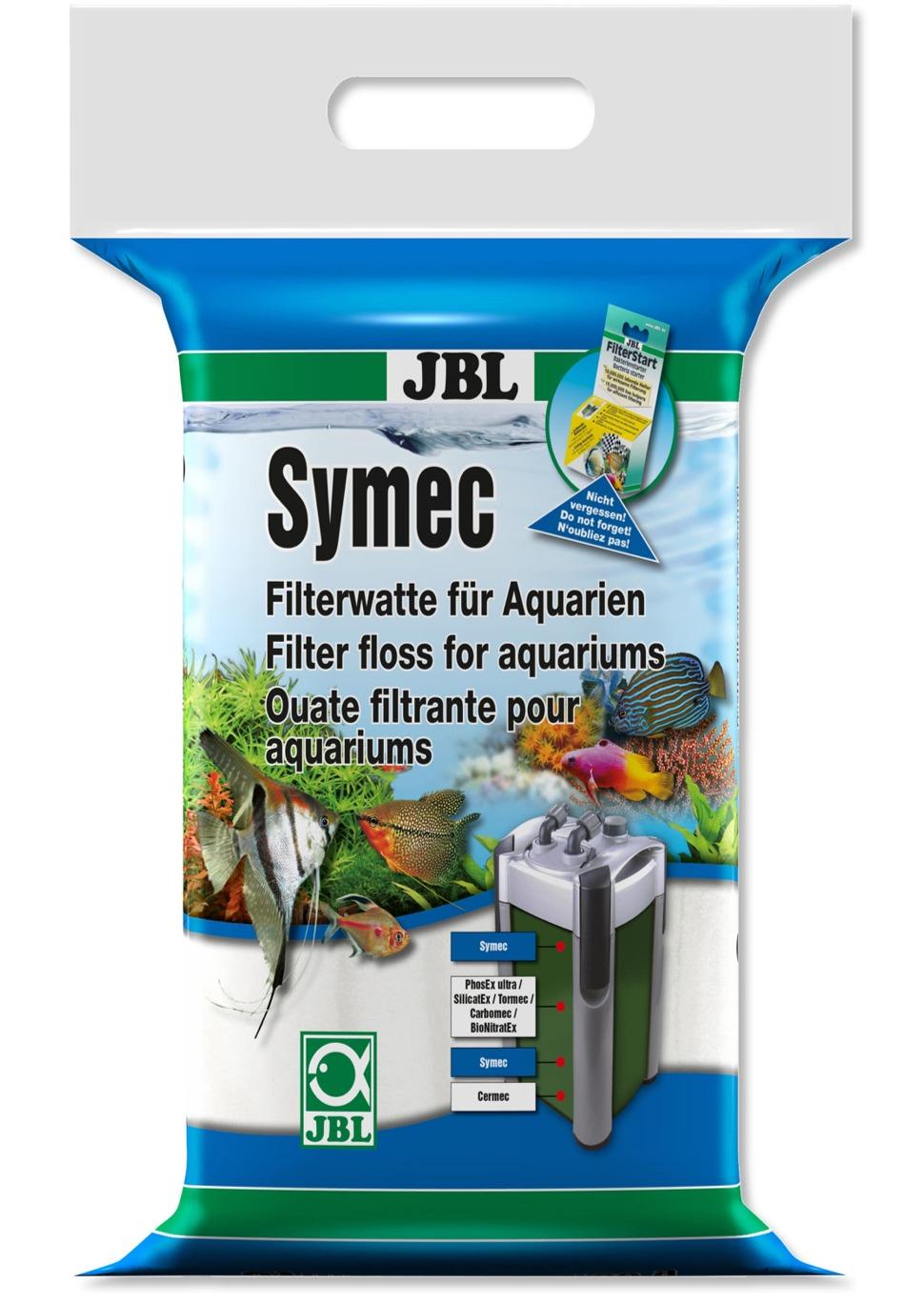 JBL Symec 250 gr. ouate filtrante fine haute qualité pour aquarium