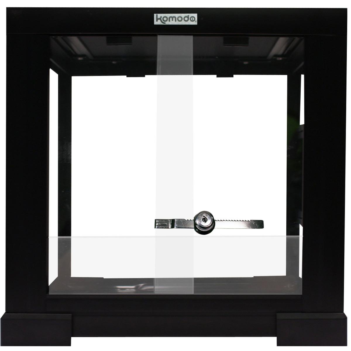 KOMODO Terrarium Assemblé en verre 30 x 30 x 30 cm