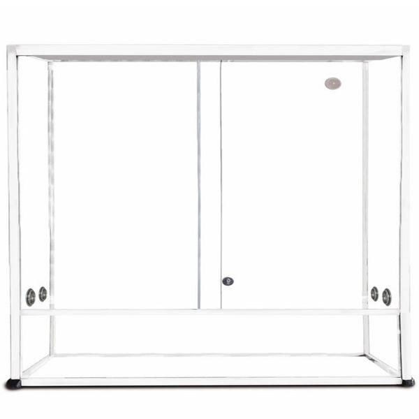 REPTILES PLANET Terrarium Aluminium Elégance 140 x 50 x 90 cm Blanc