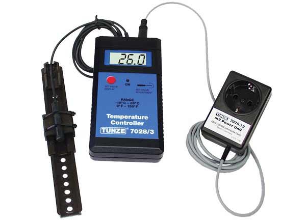 TUNZE Température Controller Set 7028/3 contrôleur de température pour chauffage ou refroidisseur