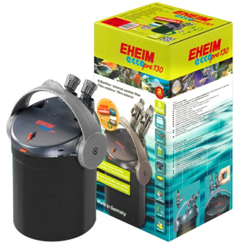 EHEIM Ecco Pro 130 Black Édition filtre externe complet pour aquarium entre 60 et 130L