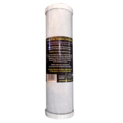 Cartouche de Charbon actif D-D 10 pouces pour osmoseur RO et autres marques compatibles