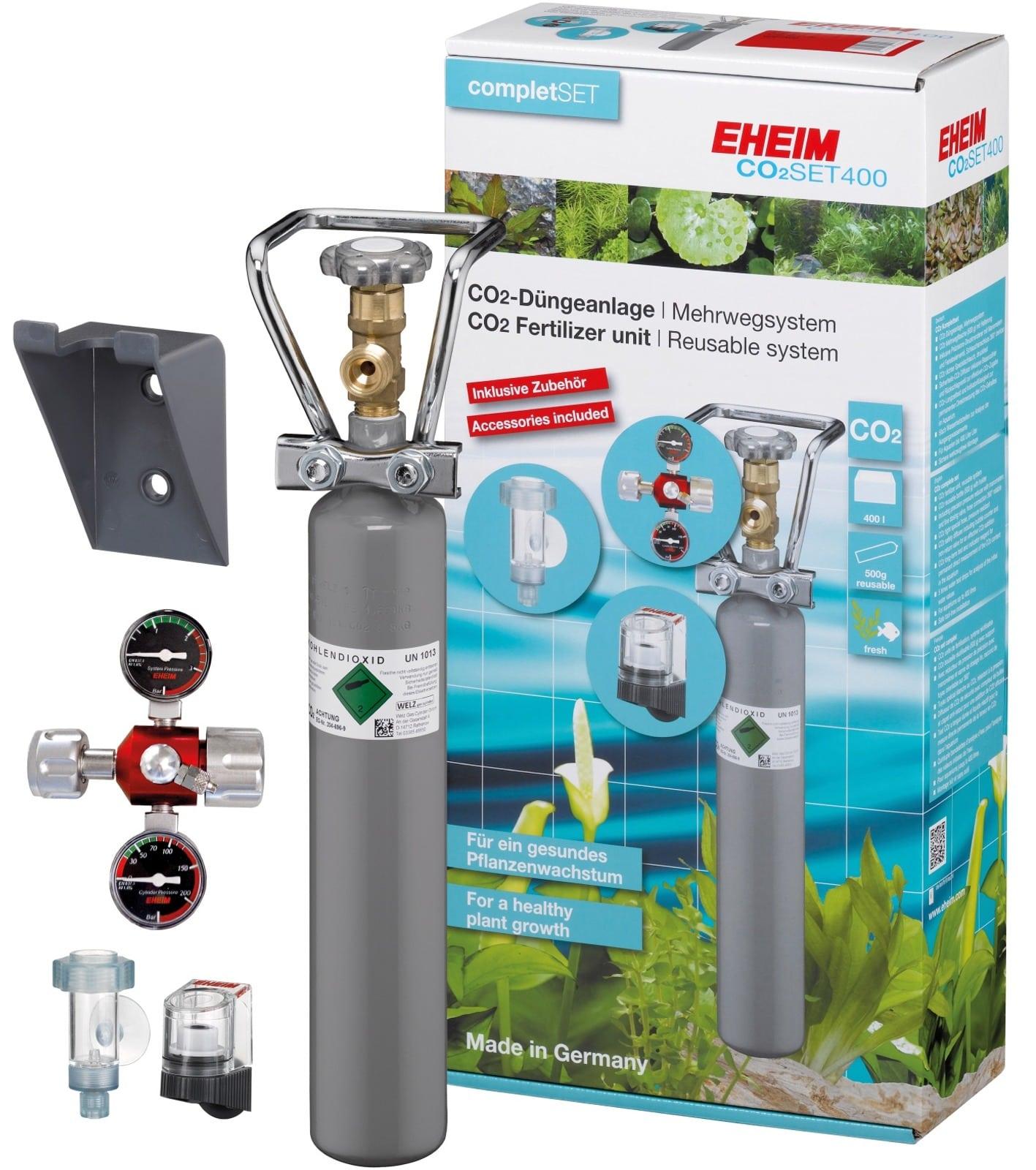 EHEIM CO2 Set 400 kit complet pour aquarium jusqu\'à 400 L