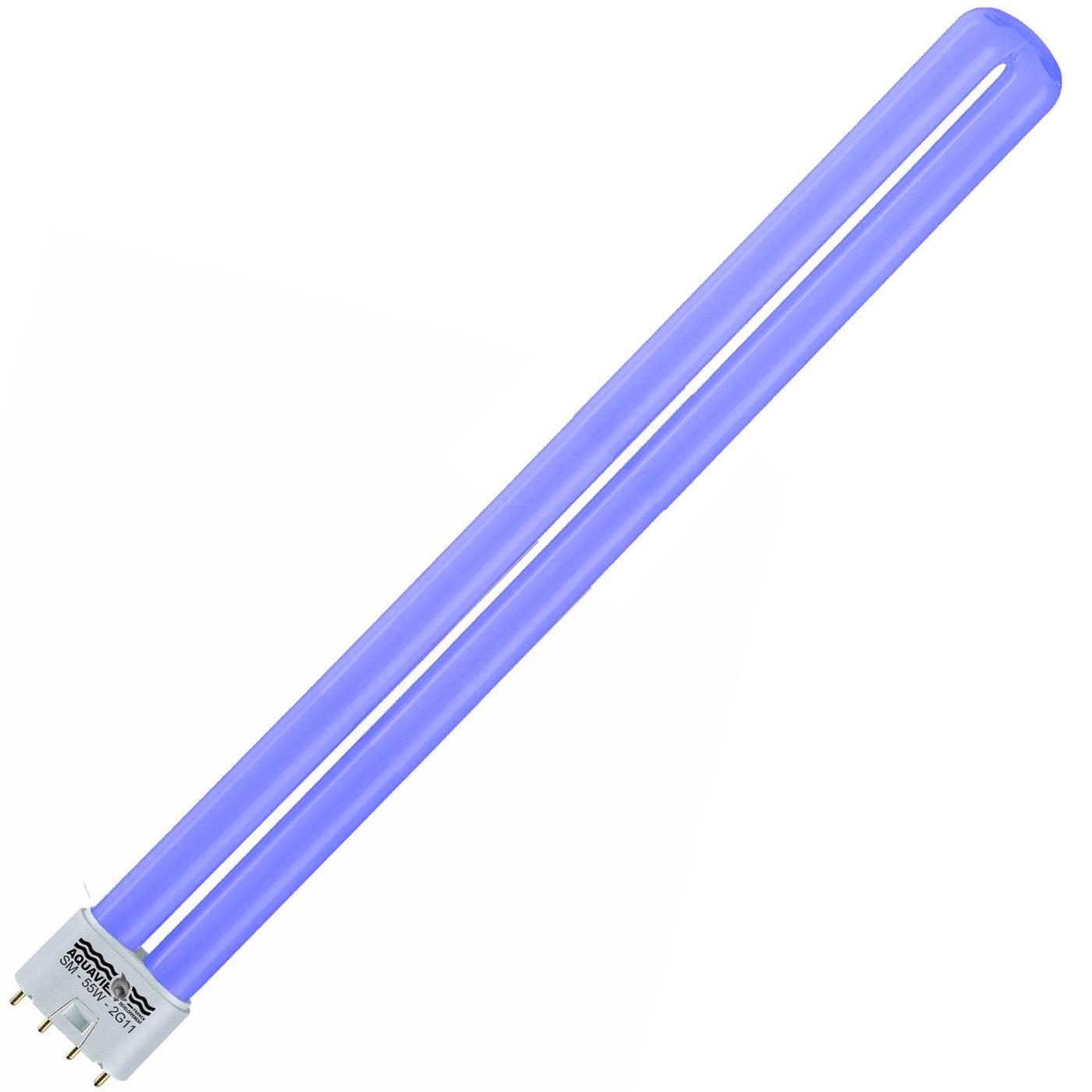 AQUAVIE Lumivie SM 55w bleu ampoule fluocompact culot 2G11