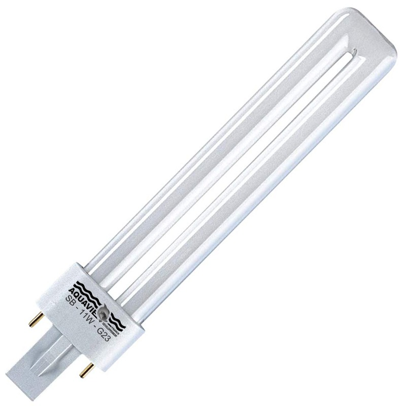AQUAVIE Lumivie SB 11W ampoule fluocompacte Blanche 10000K culot G23