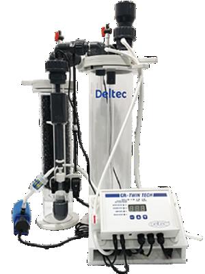 DELTEC CR TwinTech 10000 kit réacteur à Calcium pour aquarium jusqu\'à 10000 L