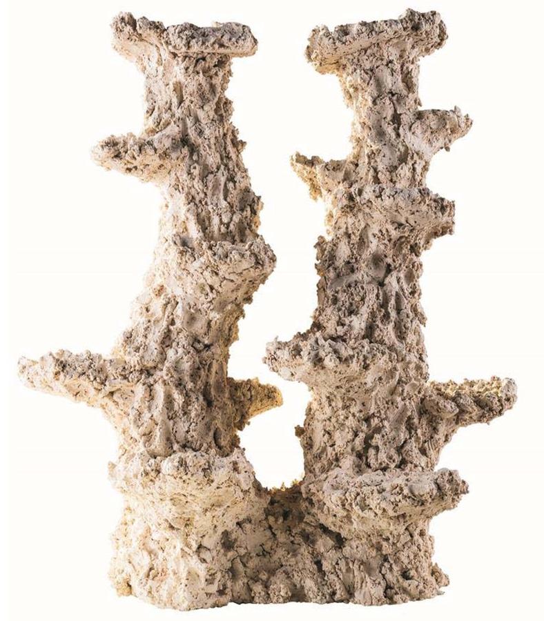 ARKA Column Wide 2 branches 40 cm 6 Kg roche céramique haute porosité pour aquarium d\'eau de mer