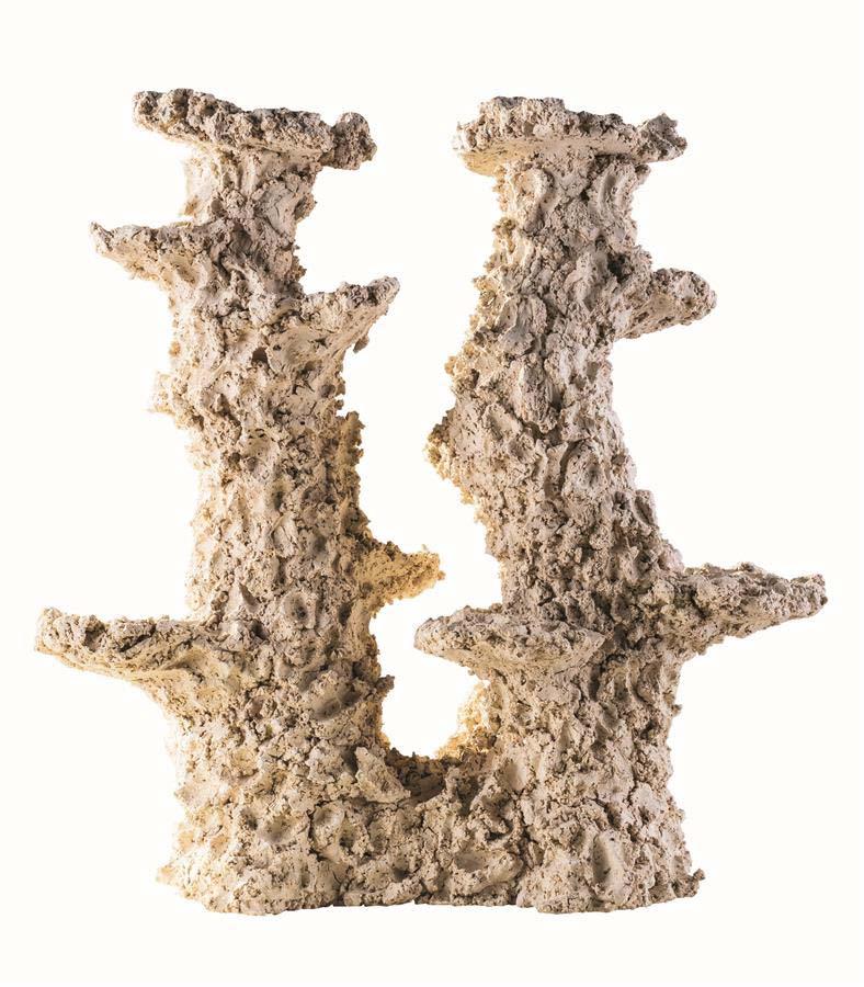ARKA Column Wide 2 branches 30 cm 3 Kg roche céramique haute porosité pour aquarium d\'eau de mer