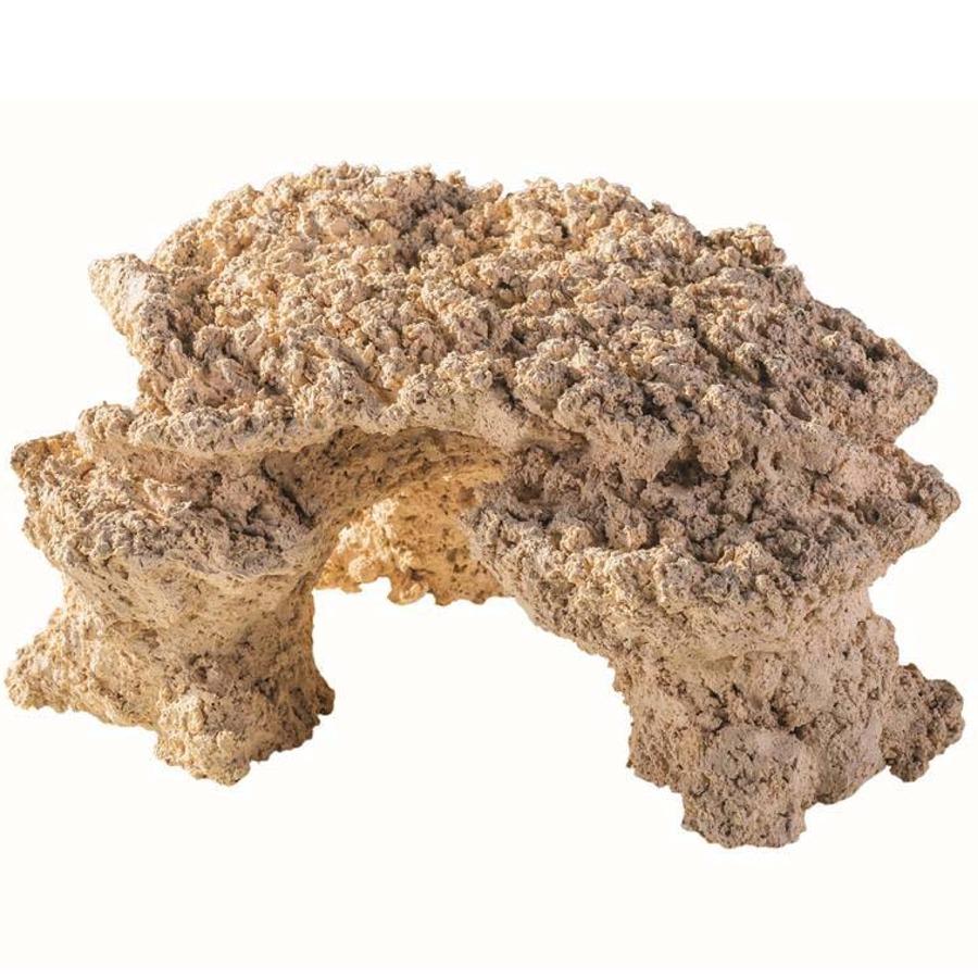 ARKA Reef Plateau 30 x 20 cm 1.8 Kg roche céramique haute porosité pour aquarium d\'eau de mer