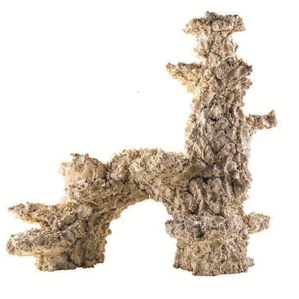 ARKA Arch Extra 30 cm 2 Kg roche céramique haute porosité pour aquarium d\'eau de mer