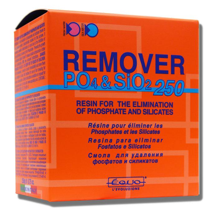EQUO Remover PO4 & SiO2 250 gr résine anti phosphates et silicates pour aquarium d\'eau douce et eau de mer