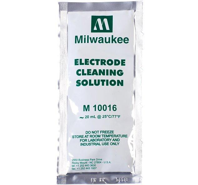 MILWAUKEE Solution de nettoyage 20 ml pour électrodes pH et pH-mètre toutes marques