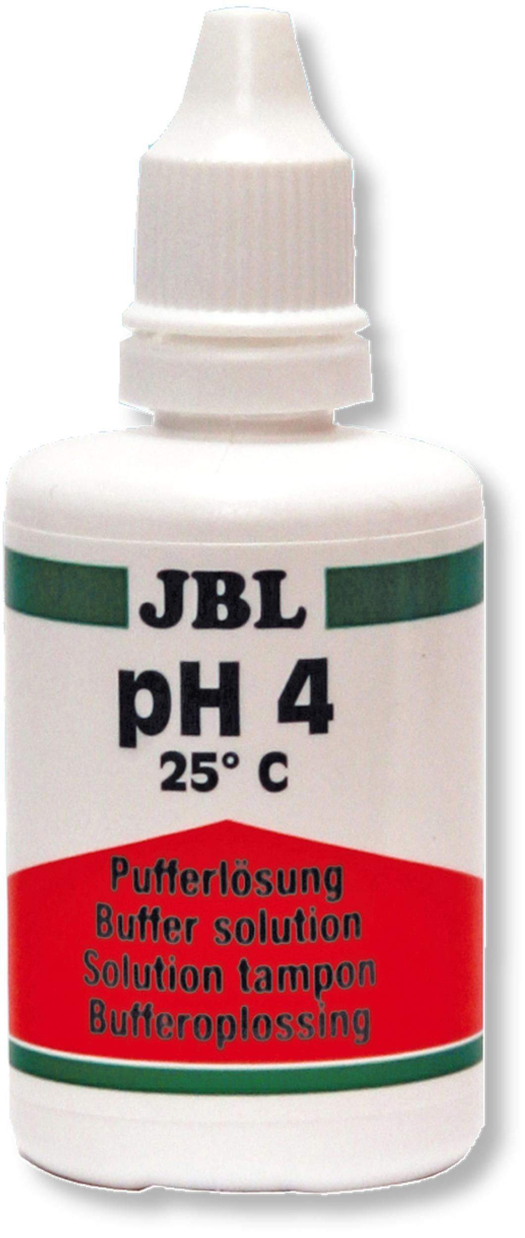 JBL Proflora Solution 50 ml pH 4 solution d\'étalonnage pour électrodes pH