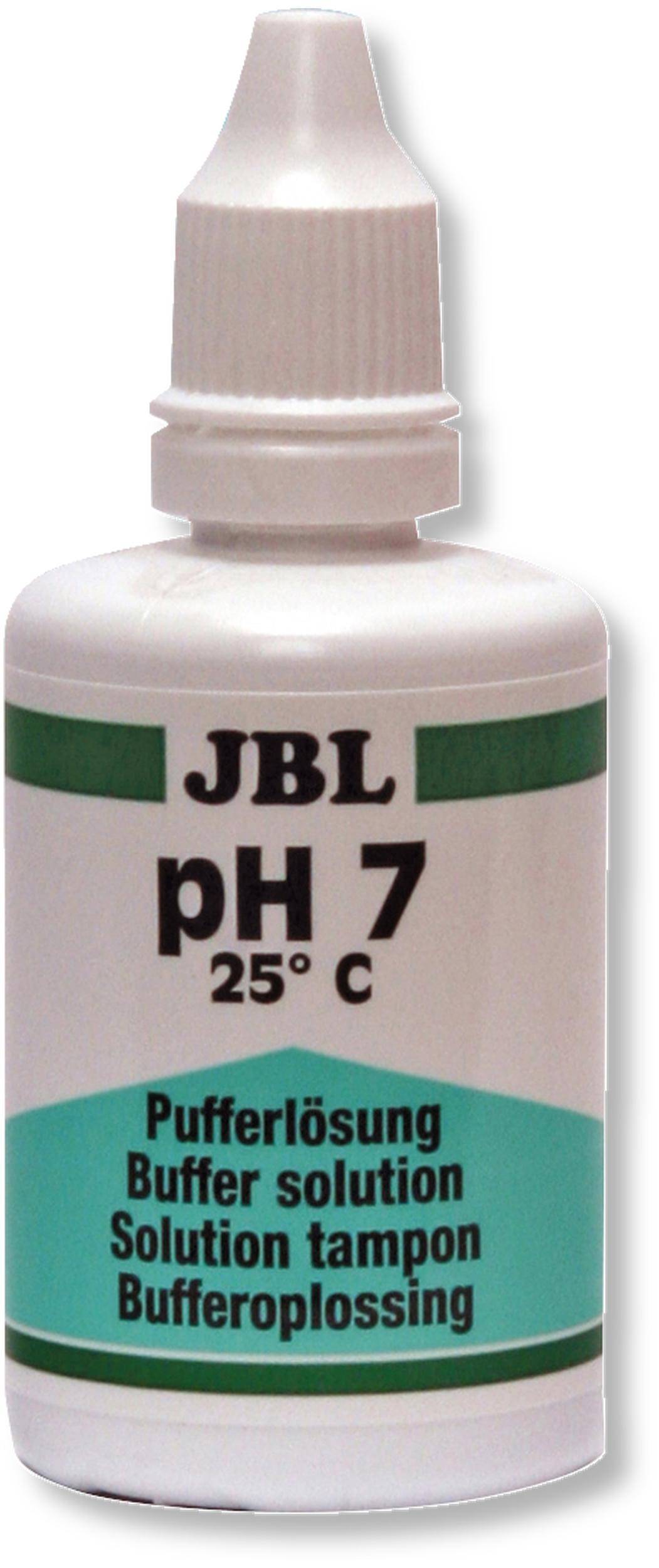 JBL Proflora Solution 50 ml pH 7 solution d\'étalonnage pour électrodes pH