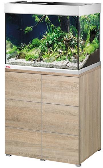 EHEIM Proxima 175 L classicLED Chêne aquarium 70 cm avec meuble et éclairage LEDs 2 x 12W