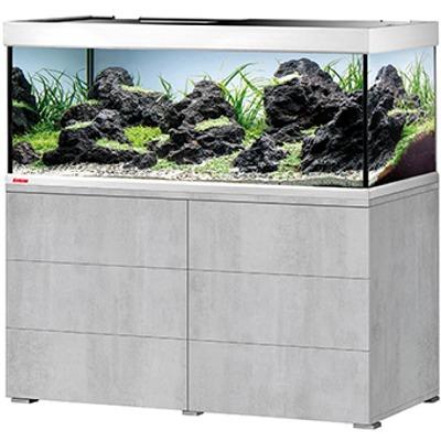 EHEIM Proxima 325 L classicLED Gris Urban aquarium 130 cm avec meuble et éclairage LEDs 2 x 16,5W